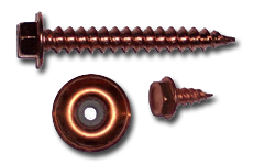 Copper Plated Screws