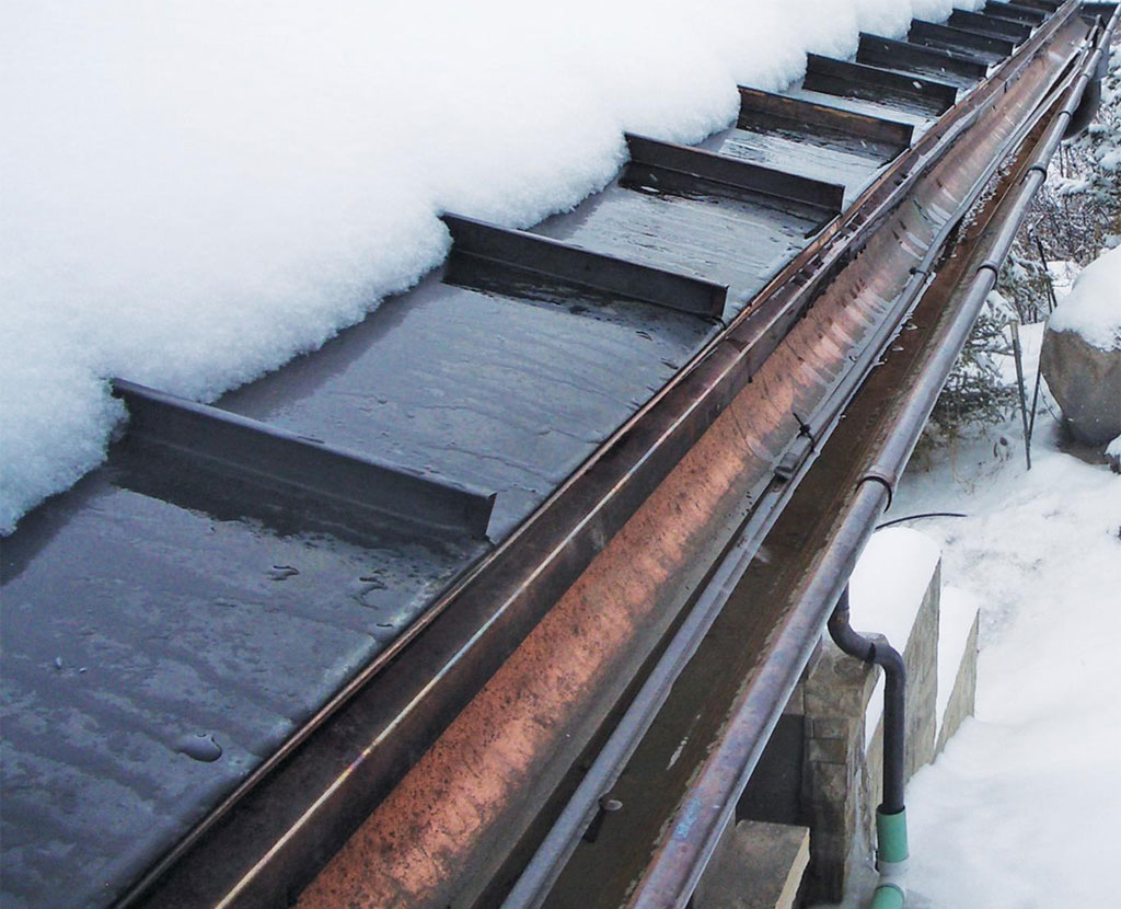 Roof Heating Systems : Hot roof ice melt systems schafer and company