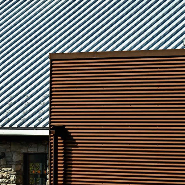 Corrugated Painted Steel